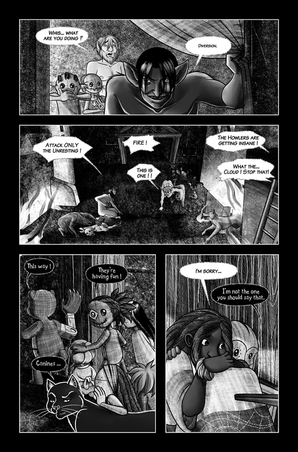 Blood and ashes 34