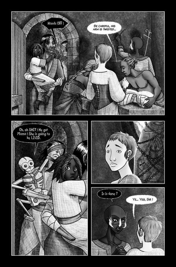 Blood and ashes 36