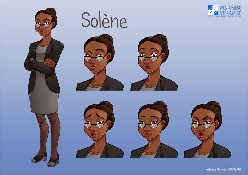 Aventurière Intérimaire: Solène