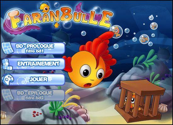 Faranbulle : Splash page